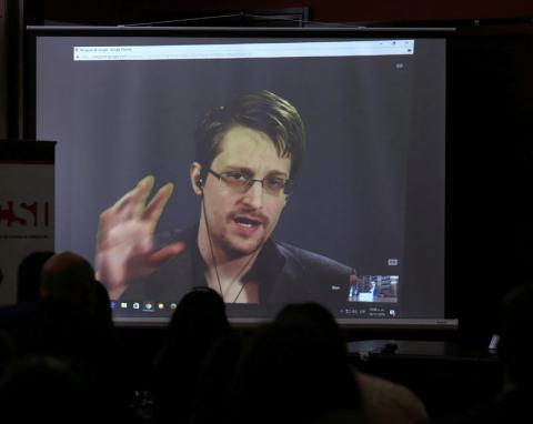 Snowden thought spying in U.S. could increase after Trump victory