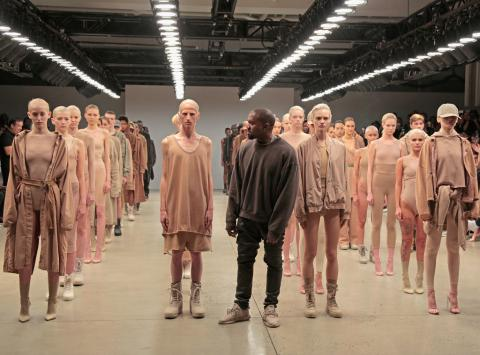 Kanye West to collaborate with Russian designer for Yeezy line