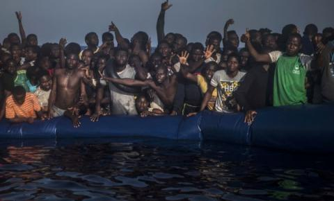 More than 340 refugees died in the Mediterranean