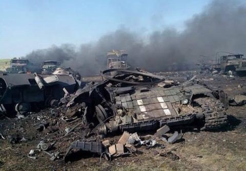 Pro-Russia militants attacked Ukrainian positions in Donbas 40 times over past day