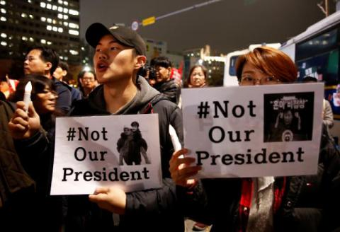 South Korean opposition wants to start impeachment process