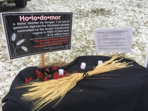 Canadian students opened Holodomor exhibition