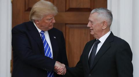 Retired US General 'Mad Dog' Mattis may become Pentagon chief - Trump