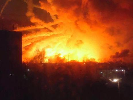 20 000 Balakliya residents flee after blast at large arm depot in eastern Ukraine (VIDEO)