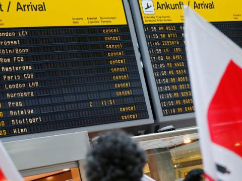 Ground staff at Berlin's airports on strike for the second day in a row