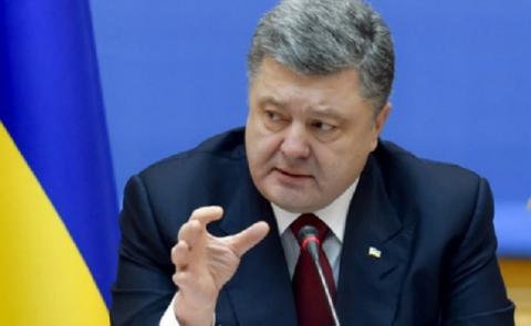 Ukrainian President seeks to suspend transport communication with occupied Donbas