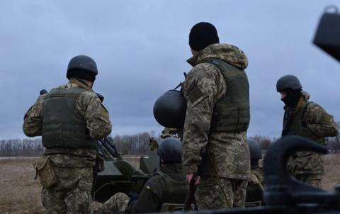Donbas militants shell Ukrainian positions 91 times over past days, 4 Ukrainian troops injured