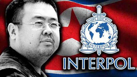 Interpol issues red notice for 4 North Koreans wanted over Kim Jong Nam murder