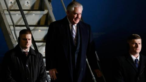 Tillerson in first Asian trip talks about North Korea