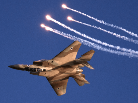 Syria's army shoots down Israeli warplane