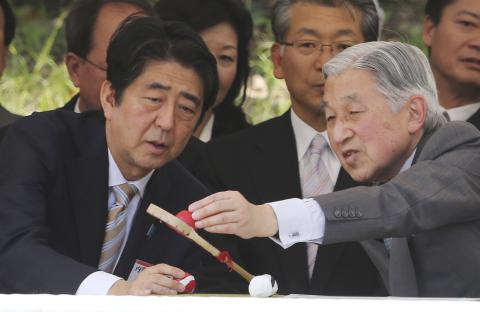 Japan's parliament wants one-time abdication law for emperor