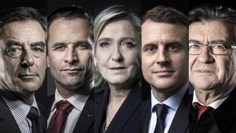 French election: 5 top candidates face off in first TV debate