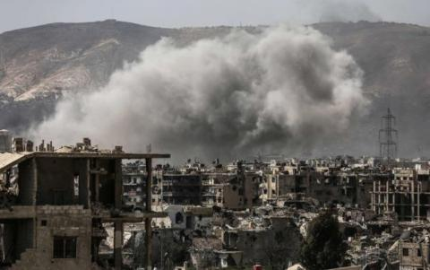 Syrian rebels launch new attack on Damascus - Hezbollah