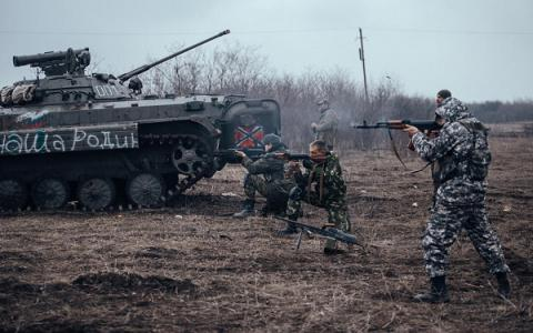 Ukrainian military reports 8 militants killed, 16 wounded in clash near Vodiane in Donbas war zone