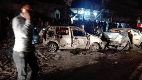 IS group claims car bombing in Iraqi capital that killed 27 people on March, 20