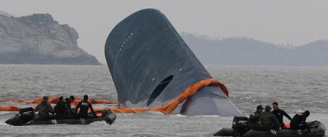 South Korea preparing to lift sunken ferry off sea floor (VIDEO)