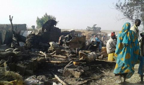 Multiple blasts at Nigerian refugee camps kill 4, injure 18, IS group suspected