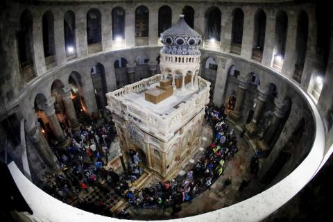 Church of the Holy Sepulchre in Jerusalem reopens after renovation (VIDEO)