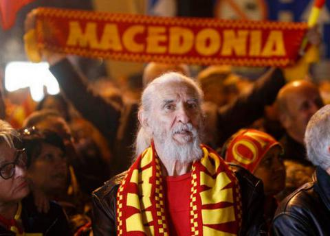 Thousands of Macedonians in anti-government rally