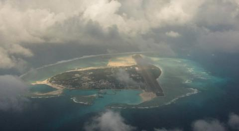 China says reports of monitoring station on disputed island are false