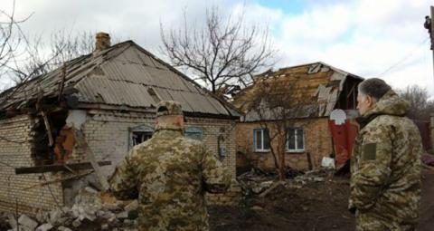Donbas militants use artillery, Grads to shell Ukrainian positions - Kyiv