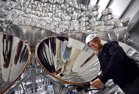 World's largest artificial sun made in Germany