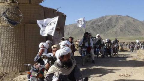 Taliban captures Sangin district in Afghanistan