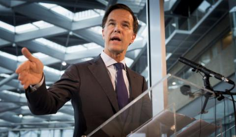 After election, 4 Dutch parties are trying to form coalition