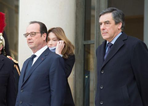 Hollande denies Fillon