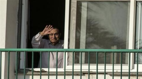 Egiptian ex-president Mubarak freed from detention
