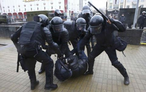 25 journalists detained in Belarus during Saturday opposition protests