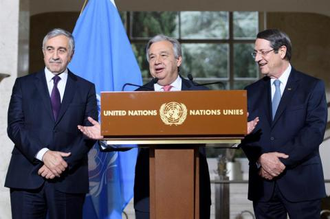 UN to host Cyprus leaders talks on April 2