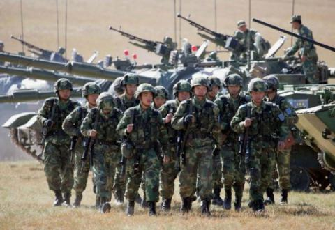 China conductes military drills on border with Myanmar