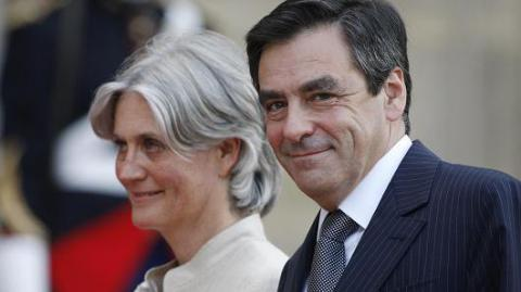 French presidential candidate Fillon