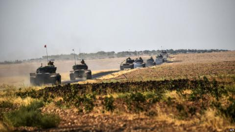 "Turkey ends ""Euphrates Shield"" operation in Syria"