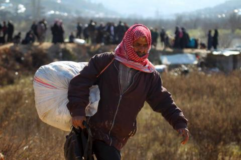 UN: Number of Syrian refugees passes five million