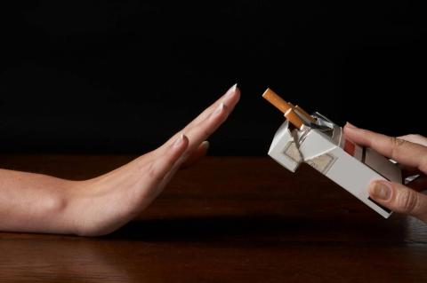 Broad support exists for larger warnings on cigarette packs