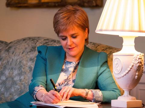 Sturgeon requested second Scottish independence referendum in letter