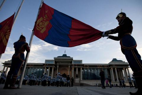 Mongolians on protests amid  alleged theft of government funds