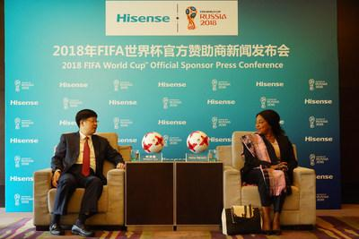 FIFA gats second Chinese sponsor as Word Cup approaches