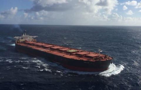 Huge cargo ship disappears in Atlantic Ocean on its way from Brazil to China