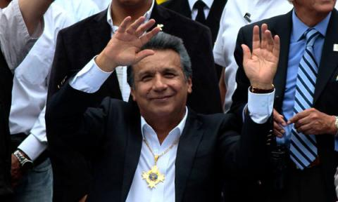 Govt candidate Moreno wins Ecuador's presidential vote, challenger asks for recount