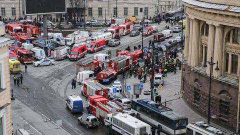 Death tall of St Petersburg subway bombing rises to 11