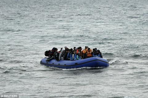 6 Iranian migrants rescued from sinking boat in English Channel