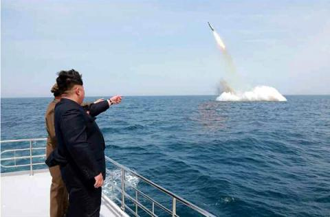 North Korea fires new ballistic missile into its eastern waters