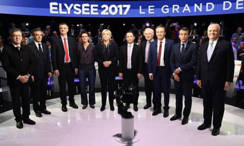 Survey: Melenchon seen as most convincing in second French TV debate
