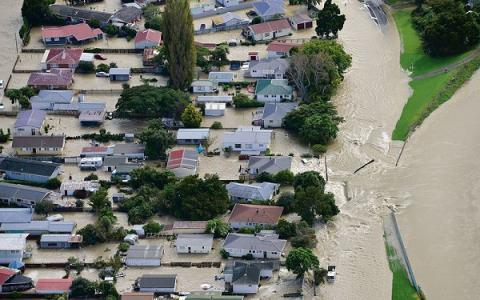 Once-in-500-year flood hits New Zealand