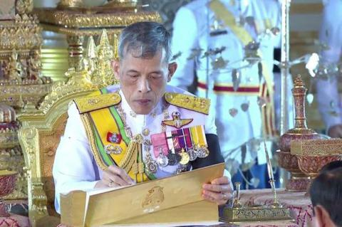 Thai king signs new constitution