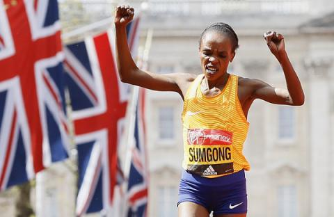 Olympic champion Jemima Sumgong caught on doping
