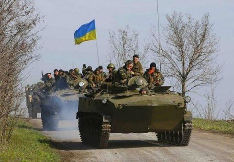 Russia-backed militants launched 48 attacks on Ukrainian military's positions in Donbas over last day